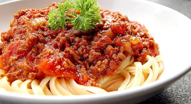 Spaghetti Alla Bolognese Bacchus Restaurant