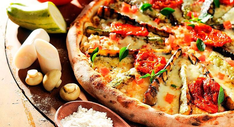 pizza-vegetariana